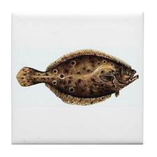Flounder Tile Coaster