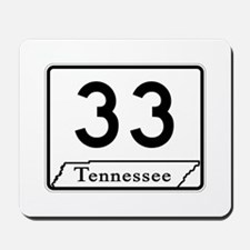State Route 33, Tennessee Mousepad