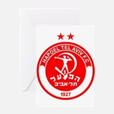 Hapoel Tel Aviv Football Soccer Isr Greeting Cards