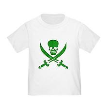 Hacker Bandit Skull Program Crasher Pirate T-Shirt