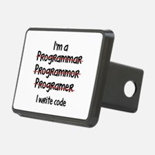 I Write Code Hitch Cover