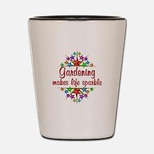 Gardening Sparkles Shot Glass