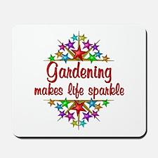 Gardening Sparkles Mousepad