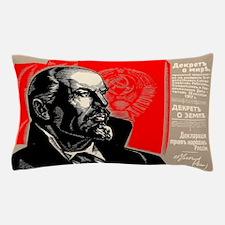 Lenin Marxist Quotes Red Soviet Revolu Pillow Case