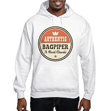 Bagpiper Funny Vintage Jumper Hoody