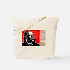 Lenin Marxist Quotes Red Soviet Revolutio Tote Bag