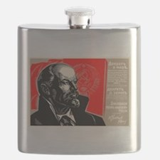 Lenin Marxist Quotes Red Soviet Revolution B Flask