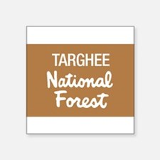 """National forests Square Sticker 3"""" x 3"""""""