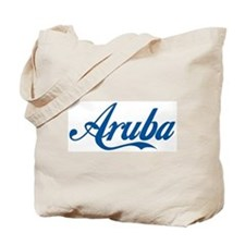 Aruba (cursive) Tote Bag
