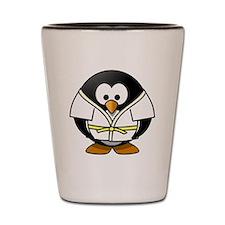 Judo Penguin Shot Glass
