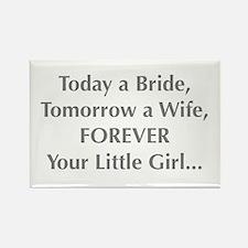 Bride Poem to Parents Magnets