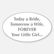 Bride Poem to Parents Decal
