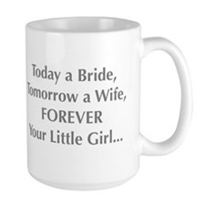 Bride Poem to Parents Mugs