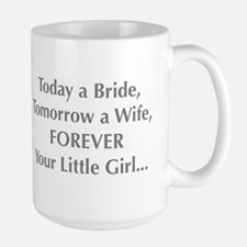 Bride Poem to Parents Mugs