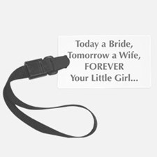 Bride Poem to Parents Luggage Tag