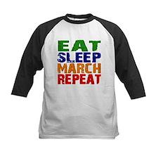 Eat Sleep March Repeat Baseball Jersey