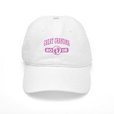 Great Grandma 2016 Baseball Baseball Cap