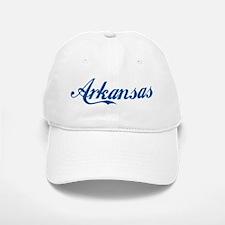 Arkansas (cursive) Baseball Baseball Cap