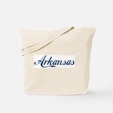 Arkansas (cursive) Tote Bag