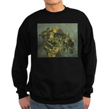 Van Gogh Basket of Pansies Jumper Sweater