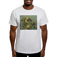 Van Gogh Basket of Pansies T-Shirt