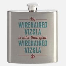 My Wirehaired Vizsla Flask