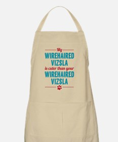 My Wirehaired Vizsla Apron