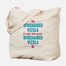 My Wirehaired Vizsla Tote Bag