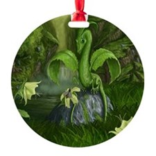 Flower Leaf Dragon Ornament