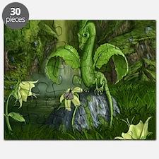 Flower Leaf Dragon Puzzle
