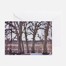 Winter in Bath, England. Greeting Card