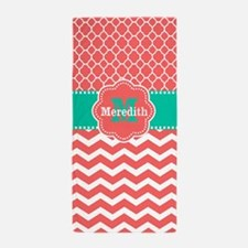Cute Monogrammed Beach Towel