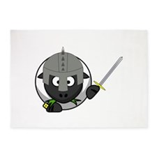 Knight Sheep 5'x7'Area Rug