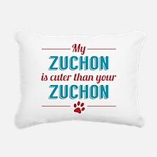 Cuter Zuchon Rectangular Canvas Pillow