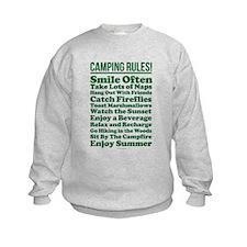 Camping Rules Sweatshirt
