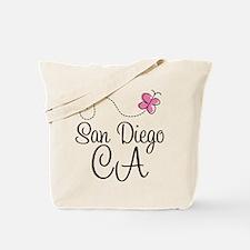 San Diego California Tote Bag