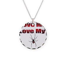 Spyder Red Necklace