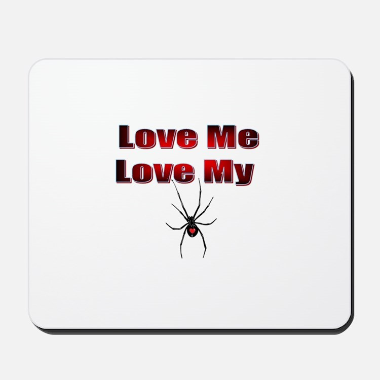 Spyder Red Mousepad