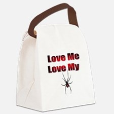 Spyder Red Canvas Lunch Bag
