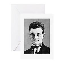 Funny John brown Greeting Cards (Pk of 10)