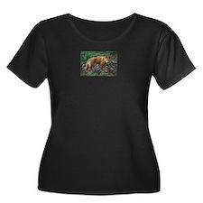 dingo Plus Size T-Shirt