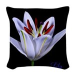 Lily Woven Throw Pillow