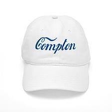 Compton (cursive) Baseball Cap