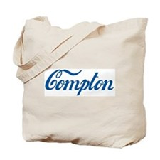 Compton (cursive) Tote Bag