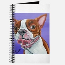 Red Boston Terrier Journal