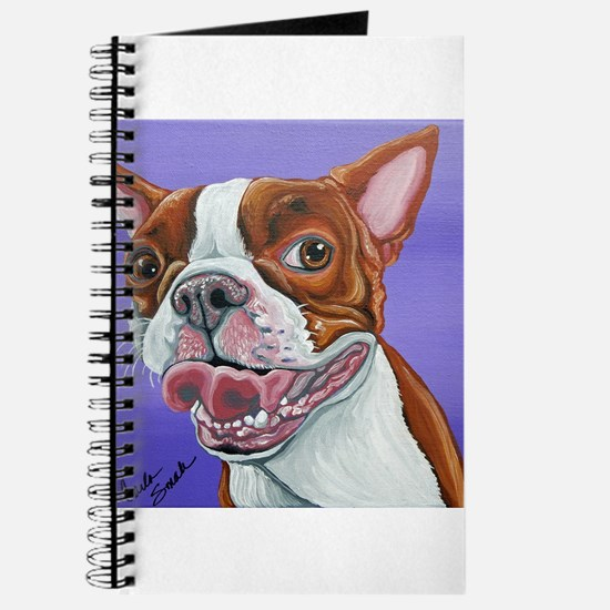 Red Boston Terrier Journal
