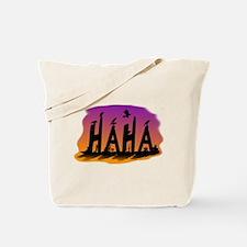 HAHA - The Harris' Hawk Tote Bag