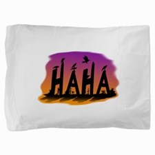 HAHA - The Harris' Hawk Pillow Sham