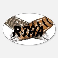 Red-tailed Hawk Decal