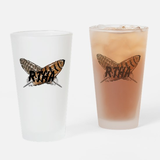 Red-tailed Hawk Drinking Glass